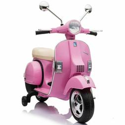 Best Ride On Cars Vespa Scooter-Pink
