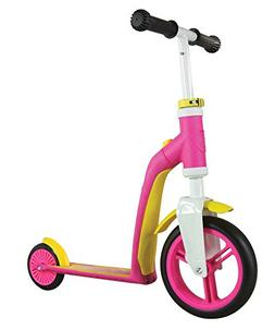 Schylling Scoot & Ride Highway Ride On, Baby Pink/Yellow