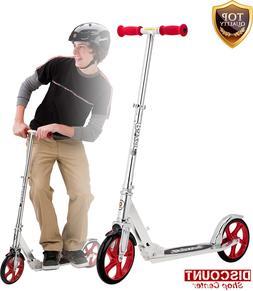 Scooter Kick Lux Adult Ride Razor Big Wheels Folding Stunt W