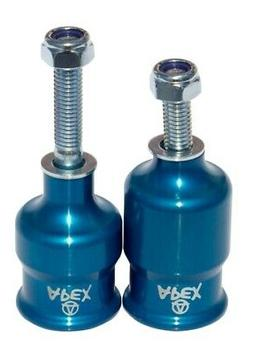 Apex Scooter Pegs Coopegs Blue