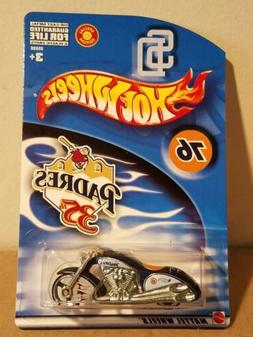 Hot Wheels Scorchin Scooter San Diego Padres Game Giveaway E