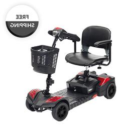 Drive Scout Spitfire Compact Travel Power Scooter 4 Wheel, E