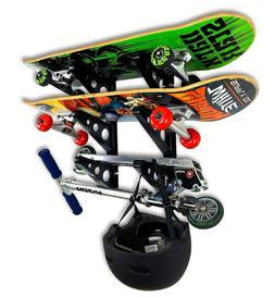 Skateboard Rack-Sports, Outdoors, Recreation, Scooter, Exerc