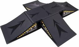 Hudora Skateboard Ramp Skateboard Black 5 Piece Game Skates