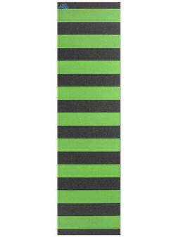 FLIK Skateboard/Scooter Grip Tape 33.75'' X 9'' Green Stripe