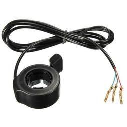 Speed Control 3 Wires Thumb Throttle on Left/Right Handle fo
