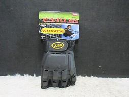 Bell Sports Scooter Black/Gray Fingerless Armor Gloves, Size