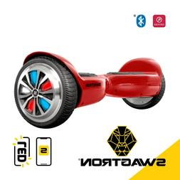 Swagtron T500 RED App-Enabled Bluetooth Hoverboad Self balan