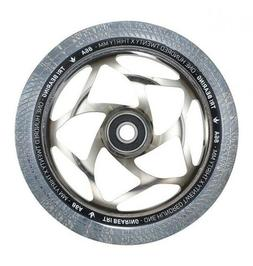 Envy Tri Bearing Scooter Wheels 120mm x 30mm - Chrome/Clear