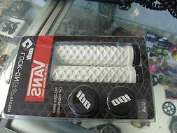 ODI VANS LOCK-ON FLANGELESS WHITE BMX MTB FIXIE FIXED BICYCL