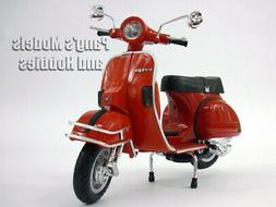 Vespa P200E Scooter 1/12 Scale Die-cast Metal Model - RED