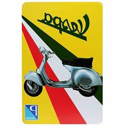 Vespa Scooter Retro Metal Tin Sign 60s Mod Homewares Decor V