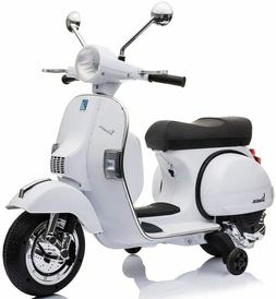 Best Ride On Cars Vespa Scooter, White... NEW 2020