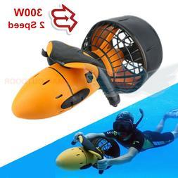 Waterproof 300W Electric Underwater Scooter Water Sea Dual S