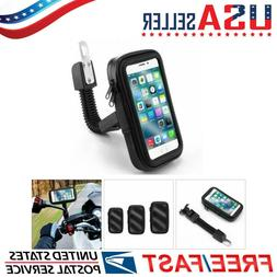 Waterproof Motorcycle Scooter Mount Holder Case For iPhone R