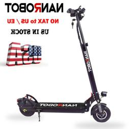 NANROBOT X4 2.0 Electric Scooter 500W Adult 8'' Folding MAX