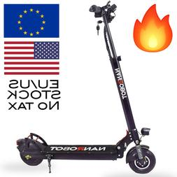NANROBOT X4 ELECTRIC SCOOTER 500W SOLID TIRES 2.0 FAST US /