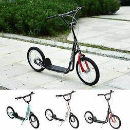 Youth Kids Scooter Height Adjustable Inflatable Tires Teens